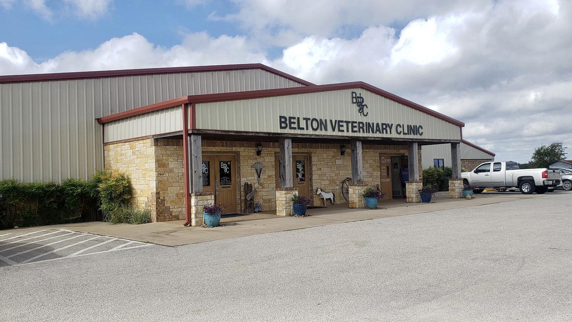 Belton Veterinary Clinic customer